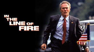 Is In the Line of Fire on Netflix?